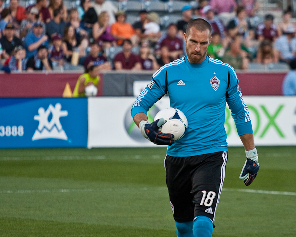 Sports Photography Denver, Colorado Rapids Matt Pickens